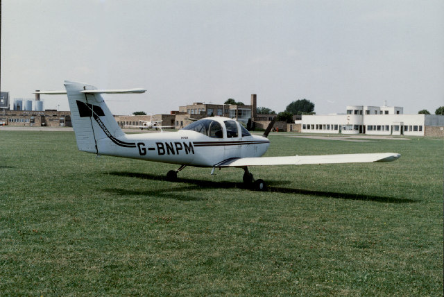 Tomahawk at Cambridge Airport