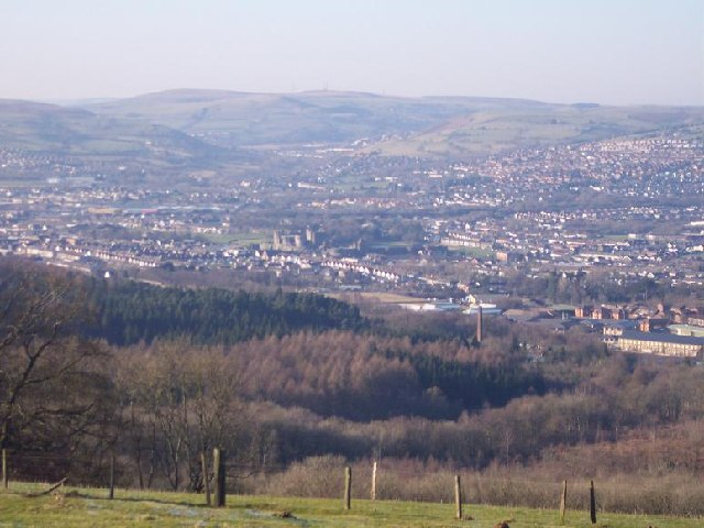 View of Mynydd Meio, Caerphilly