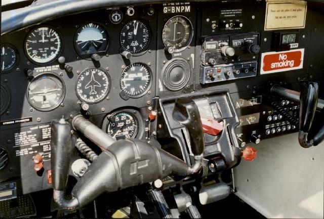 Tomahawk Cockpit - Cambridge