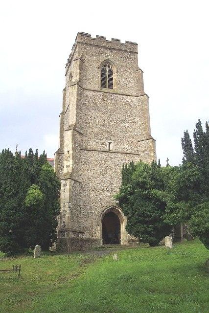 St. Mary, Clopton