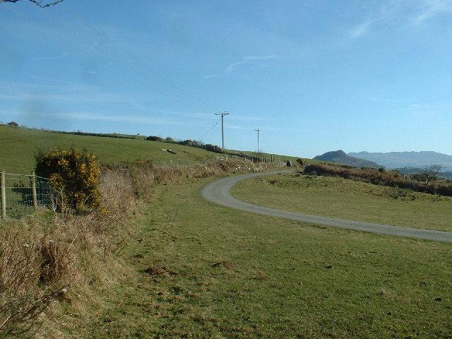 Open road, near Pentrefelin
