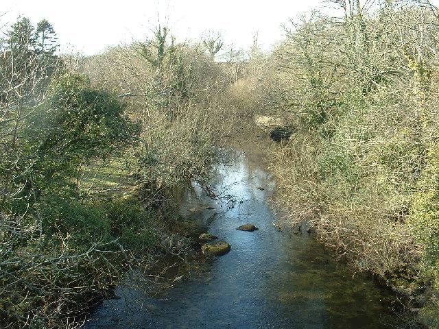 Afon Dwyfor from Pont Rhyd-y-benllig