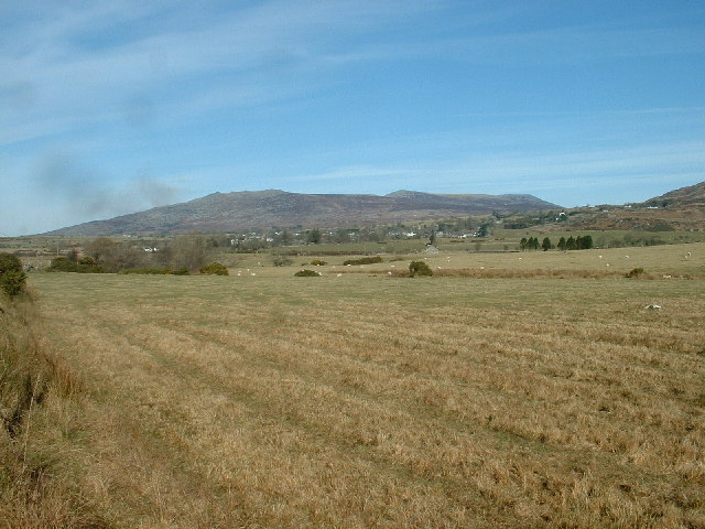 Farmland near Garndolbenmaen