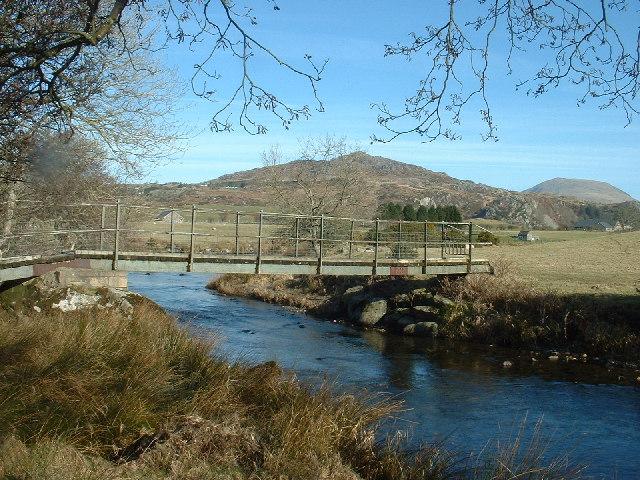 Footbridge over the Dwyfor