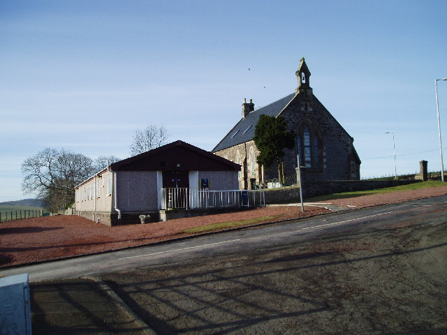 Elsrickle Village Hall and Church