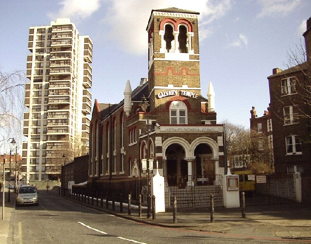 Calvary Temple and Laird House, Camberwell