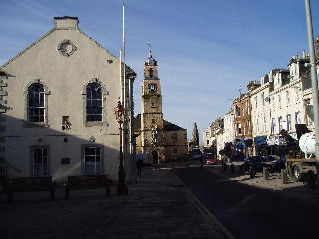 Lanark Town Centre