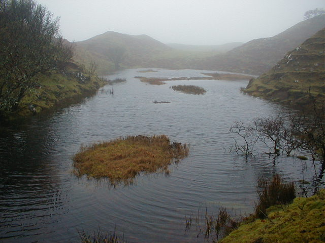 "Lochan in ""Fairy Glen"""