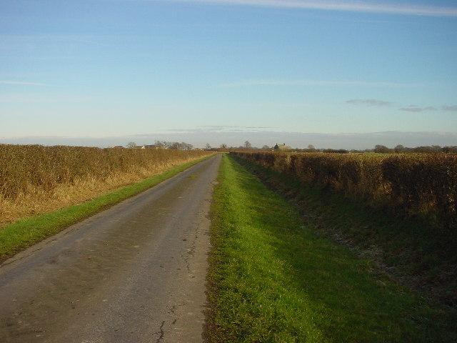 Lane to Hayrigg Hall