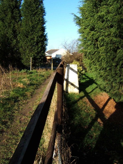Triangulation Point near Bosworth Rd