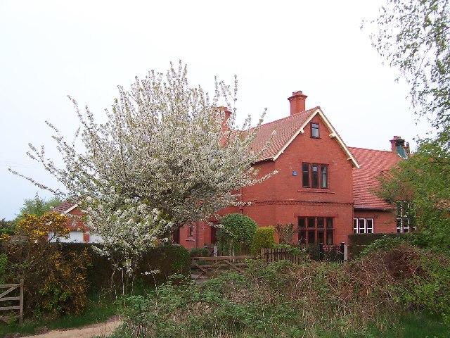 Dawpool School, taken from Thurstaston Hill