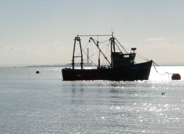 Fishing Boat Mooring, Southend-on-Sea