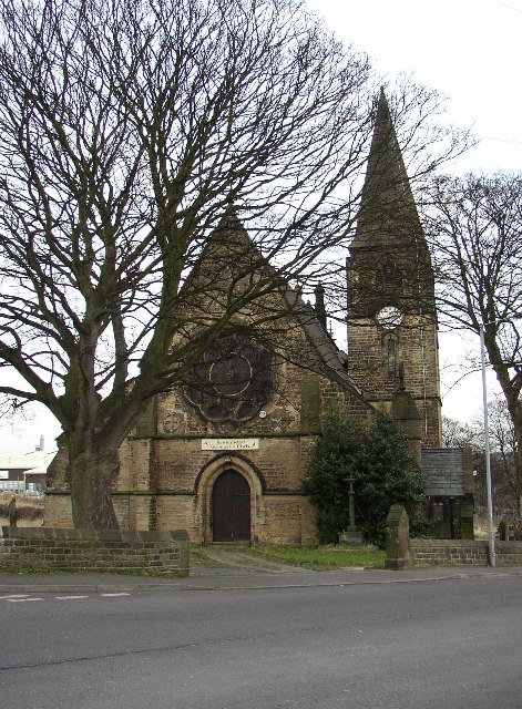 Former St Thomas's Church, Bradley, Huddersfield,Yorkshire