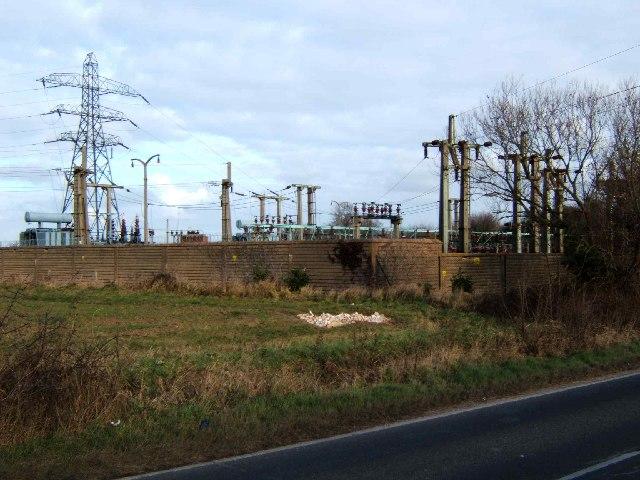 Shopland Substation