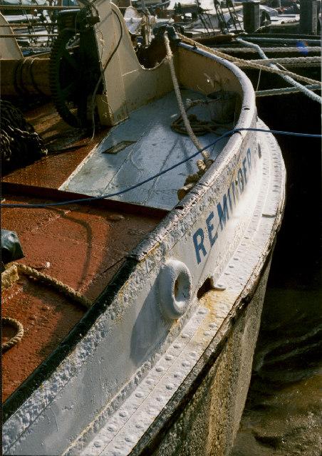 Detail of Barge 'Reminder'