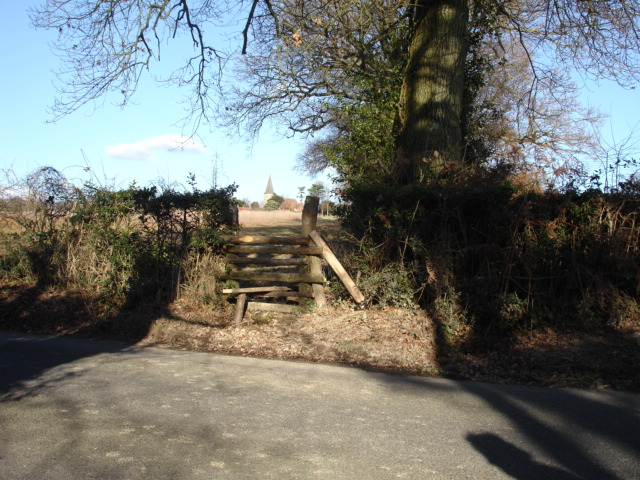 Stile Old Heathfield East Sussex