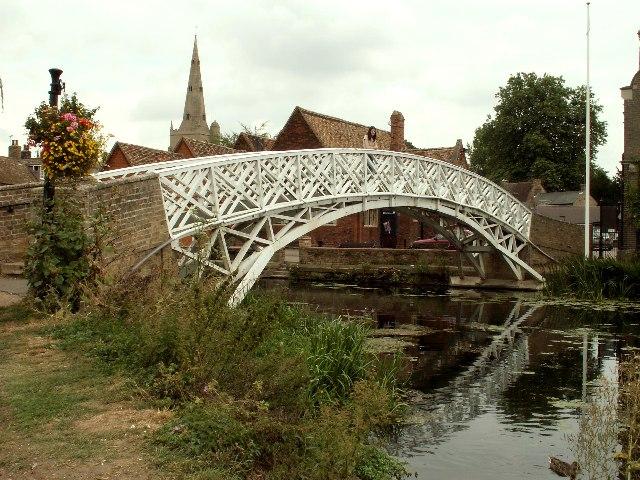 Chinese Bridge, Godmanchester, Cambs.