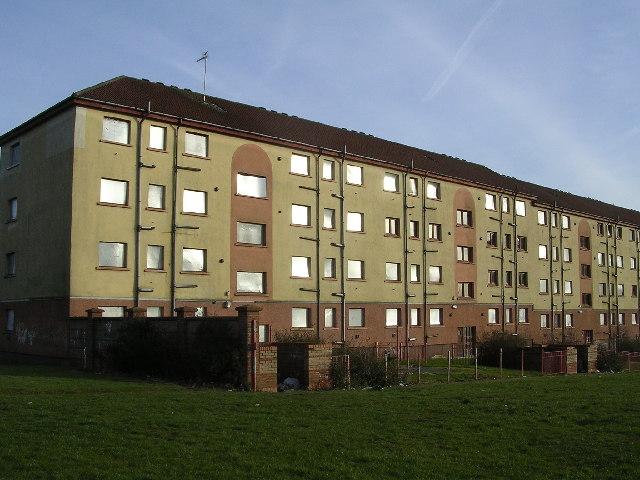 Derelict Housing, Bucksburn Road, Balornock