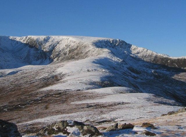 South East ridge of Maoile Lunndiadh
