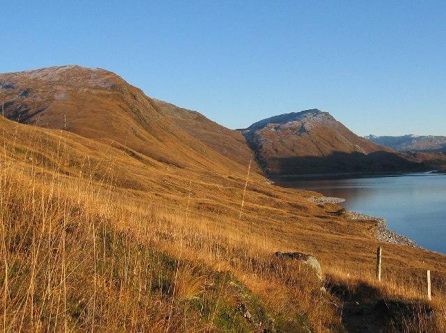 Northern shore of Loch Monar
