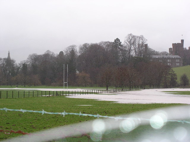 Flooding in Ruthin