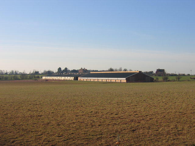 New farm buildings on Alveston Hill