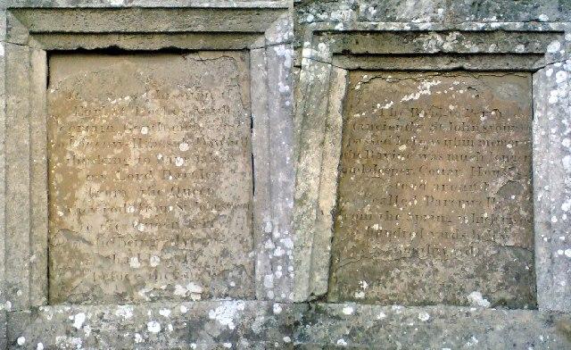 Parenwell Bridge Inscriptions