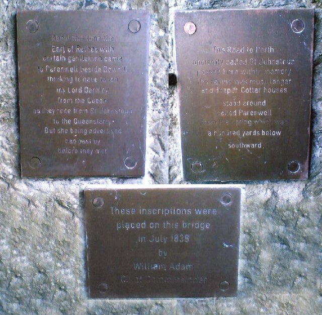 Parenwell Monument Plaques