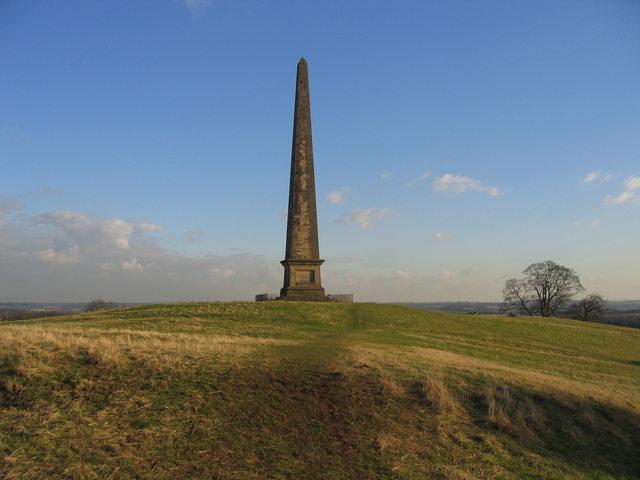 Welcombe Bank Obelisk