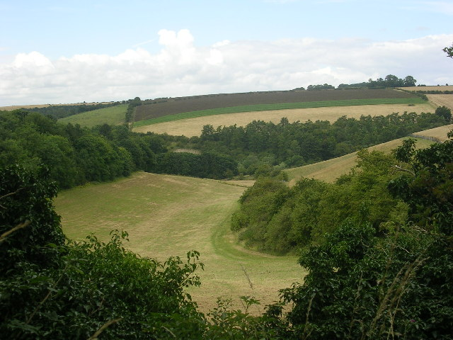 Comber Dale on the Wolds Way