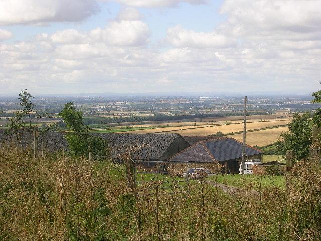Warren Farm, above Millington Bottom