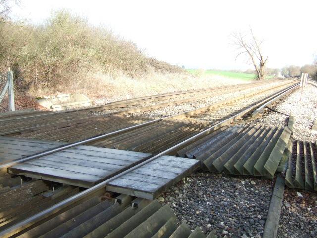 Unguarded Railway Crossing