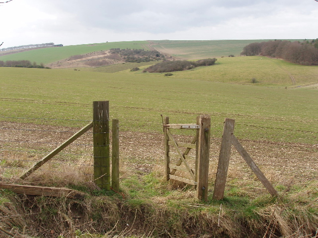 Gate on Stony Hill, by Fisherton de la Mere