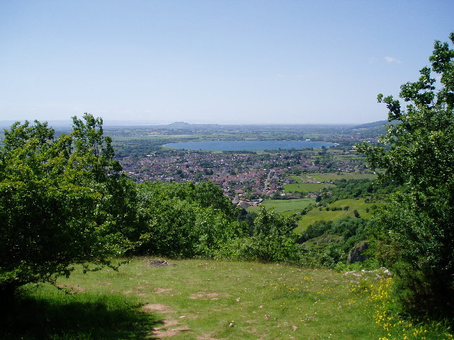 View to Cheddar Reservoir