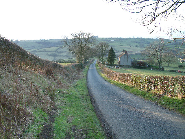 Looking east across Turlow Fields a mile or so south of the village of Hognaston.