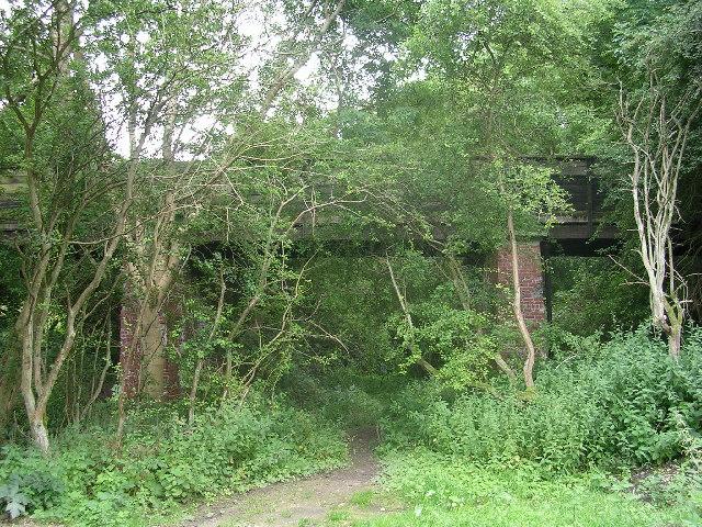 Old railway at Wharram Percy