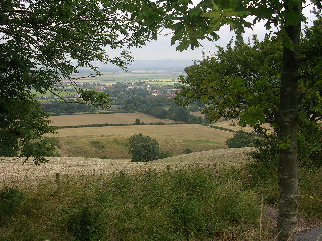View from the Wolds Way