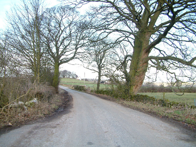 Near Sandhurst Farm on the Bradbourne to Brassington road.
