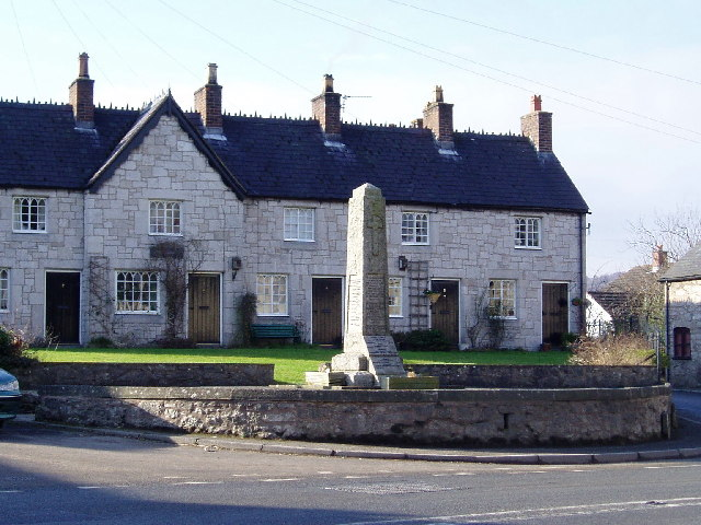 War Memorial at Llanfair D C