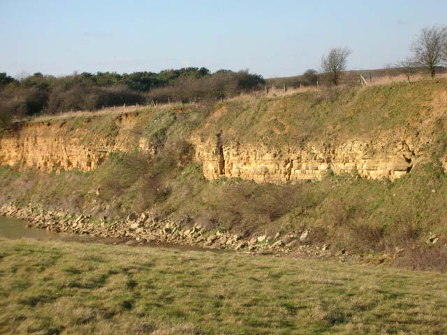 Ironstone Quarry Face