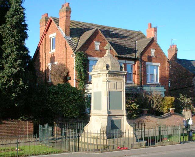 Finedon War Memorial