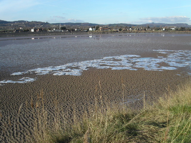 Ice pockets on Severn estuary