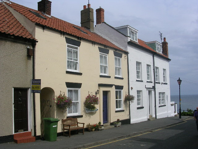 An attractive corner of old Filey