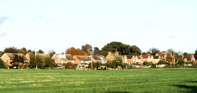 Backs of houses, Culham