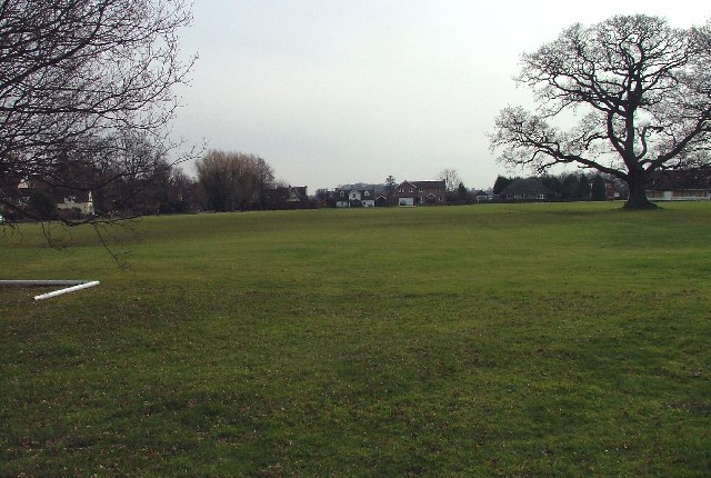 Ickwell Village Green.