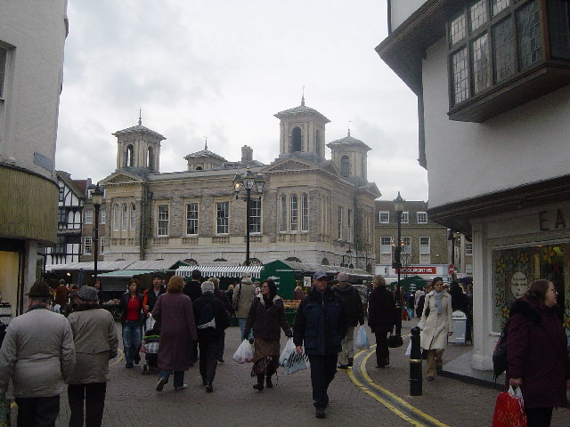The market place Kingston upon Thames