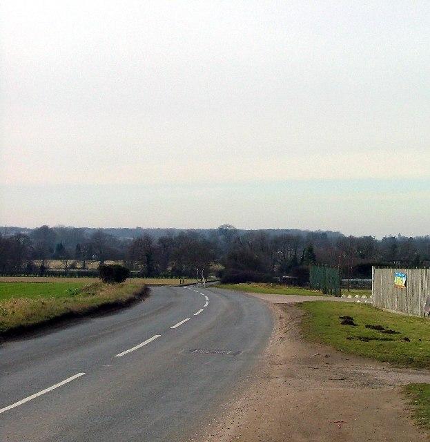 Upper Caldecote / Ickwell road.