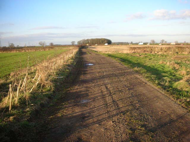 Farm Track to the A6 Main Road
