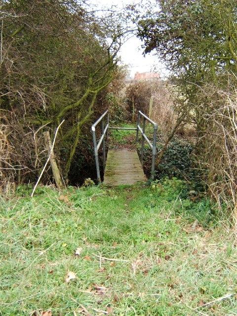 Footbridge near Rawreth