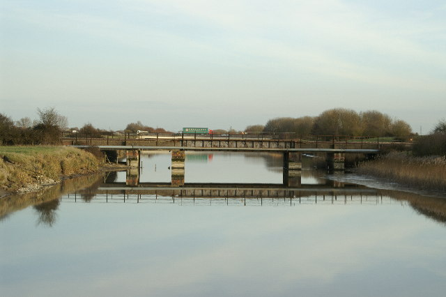 Railway Bridge over the Huntspill River